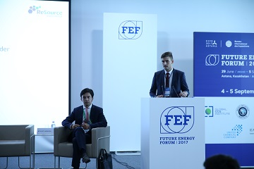 "On 4 September 2017 United chemical company LLP (UCC) held ""The chemical industry prospects"" session in the Congress center of the international exhibition complex EXPO 2017 in the final series of the Forum ""Future energy"""
